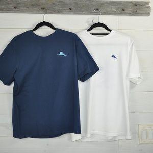 2-tommy Bahama t-shirts